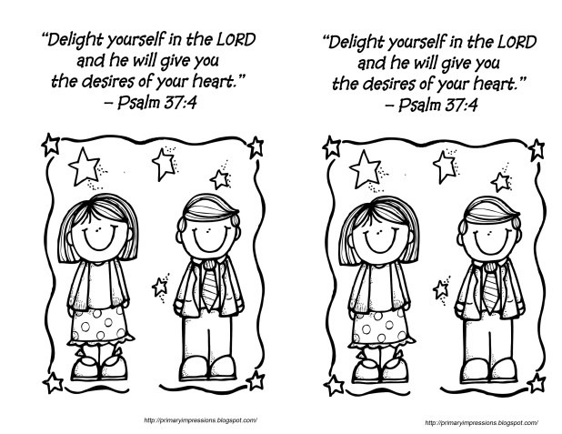 Aug 5 2013 - Psalm 37 5 Coloring pageB copy