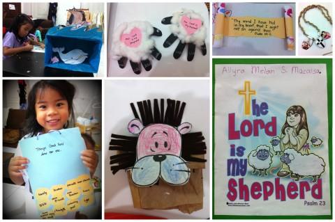 BJU Bible Crafts