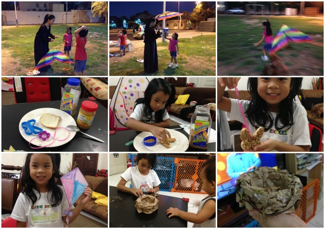 BJU Beginnings Lesson for K5: Flying Kites, Fall and Winter: Making a Birdfeeder and a Birdnest