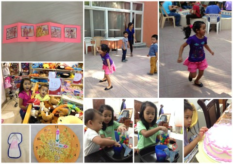 "BJU Bible Craft - story of Prodigal son; Telling time and item prices; FILIPINO: Playing ""Patintero"" and retelling the story ""Ang Uwak at ang Pitsel"""