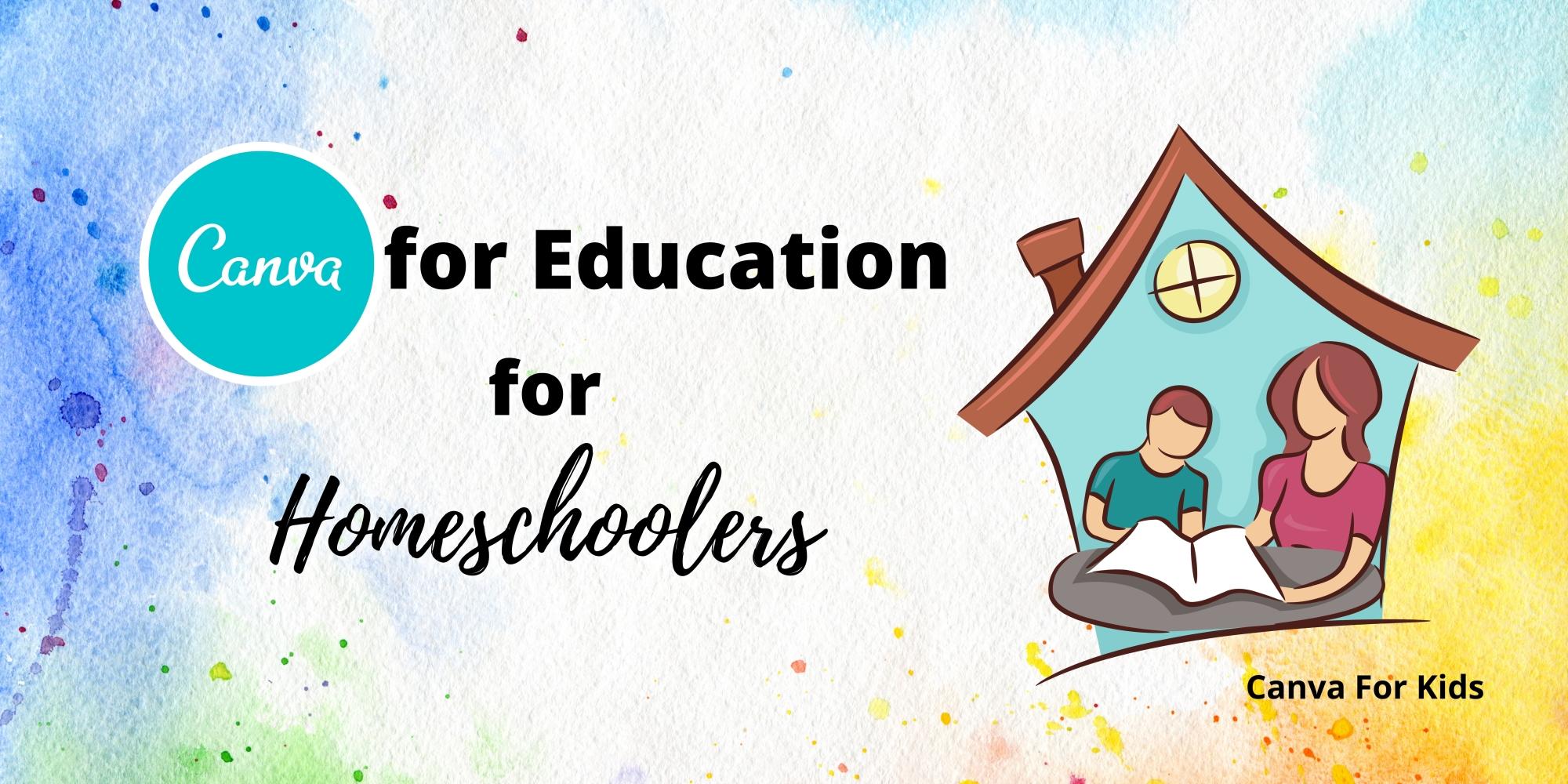 Canva for homeschoolers