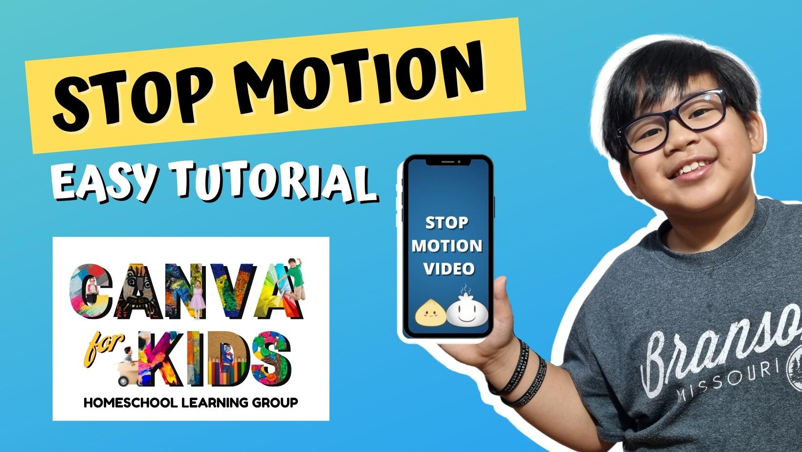 Canva: Stop-Motion Animation